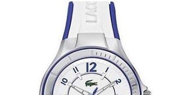 5b6291e0b38 Dámské hodinky Lacoste Acapulco bílo-modré