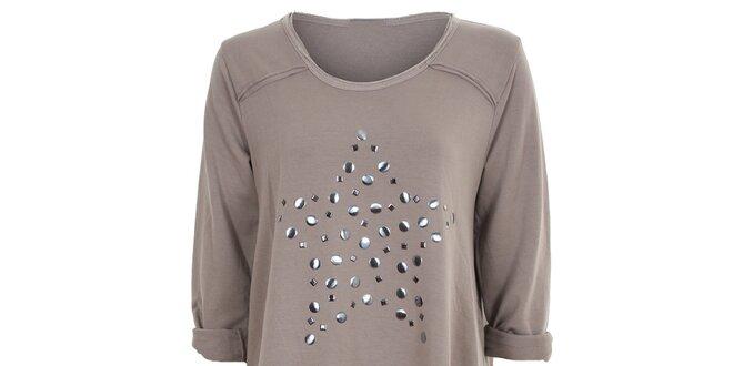 7cd04b66ff1b Dámské šedo-hnědé tunikové šaty Sugar Crisp