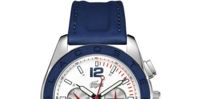 Pánské modré analogové hodinky Lacoste  a9714de63e