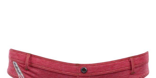 Dámské tmavě růžové kalhotky Diesel