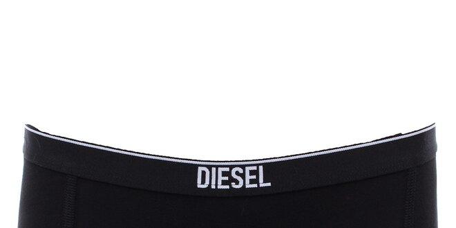 Dámské černé nohavičky Diesel