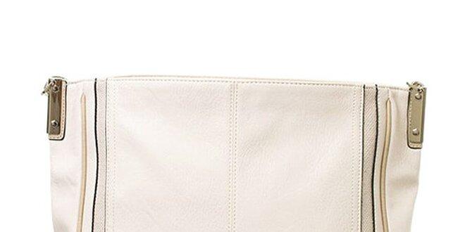 Dámská krémová kabelka s jedním poutkem Sisley  062b6121282