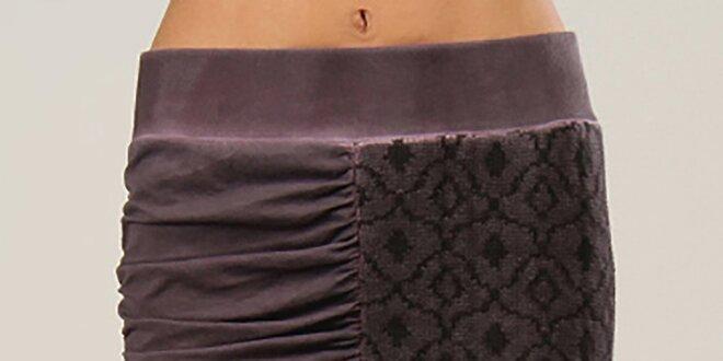 Dámská fialová sukně Angels Never Die  0fa20dc8e4