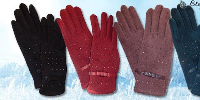 Elegantní rukavice s kamínky  053e7f5e4b