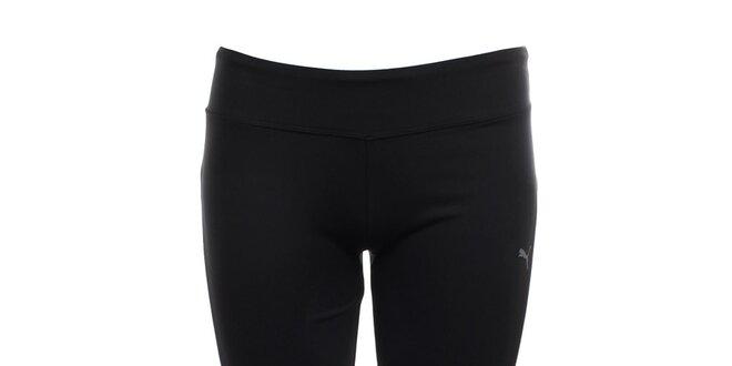 Dámské černé funkční 3 4 kalhoty Puma  aa68673e31