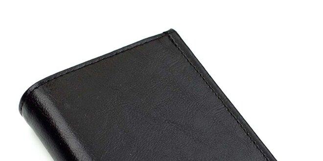 Pánská obdélníková kožená peněženka Solier
