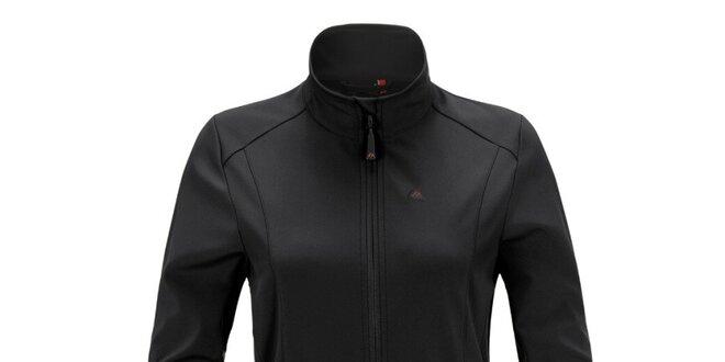 Dámská černá softshellová bunda se stojáčkem Maier