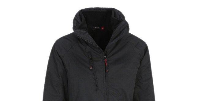 Dámská černá bunda s límcem Maier
