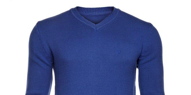 08149d99231 Pánský světle modrý svetr Pietro Filipi