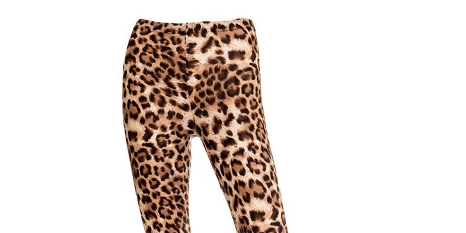 Dámské leopardí legíny Leggsington  a4204bd06d
