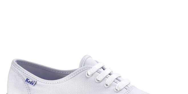 Dámské bílé plátěné tenisky Keds  5f341dda09b
