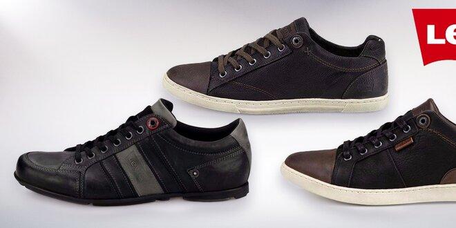 Pánské kožené boty Levi s  dc550ce33f