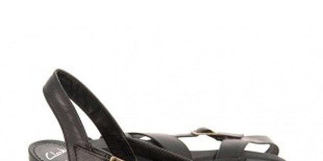 Dámské elegantní páskové boty Clarks na vysokém podpatku  c7a2bba6ce