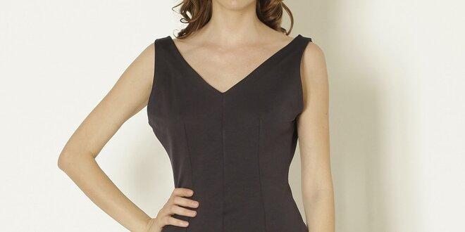 Dámské černé šaty bez rukávů Keren Taylor  18073fe0e1