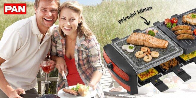 Raclette grily pro 4 nebo 8 osob od Bestronu
