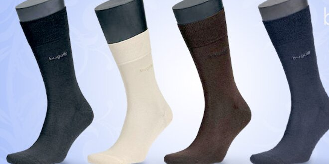 Pánské ponožky Bugatti z jemné kvalitní příze  752ffc3977