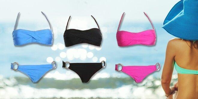 Dvoudílné dámské plavky v krásných barvách  b13b1024ef