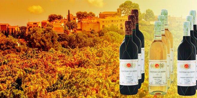 Degustační sada 12 lahví španělského vína Cha