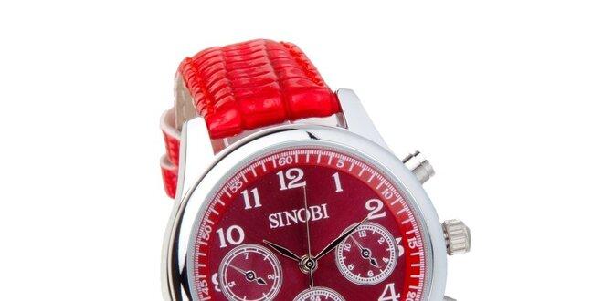 81d132d9f Dámské červené hodinky Bague a Dames | Slevomat.cz