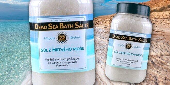 2 kg koupelové soli z Mrtvého moře