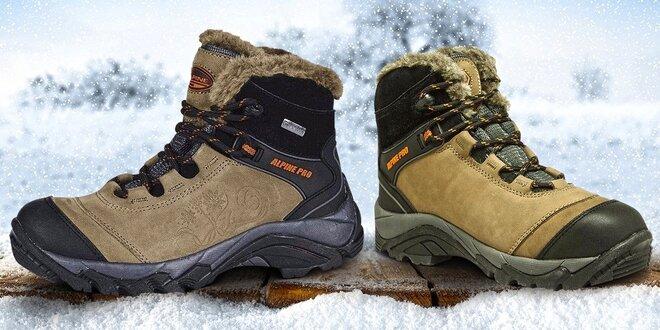 Dámské zimní boty Alpine Pro  f2ee6e4ee1