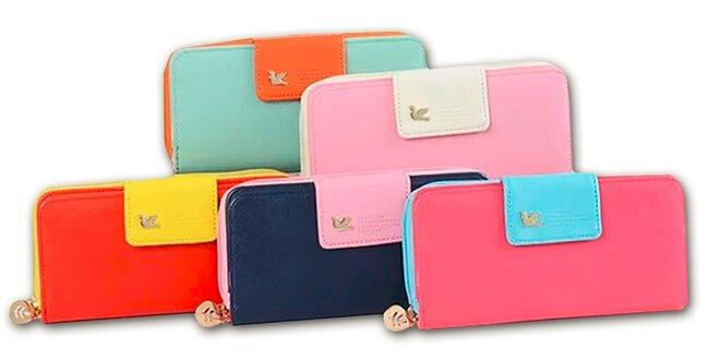 Barevná dámská peněženka Be Sweet  ebb292aadb