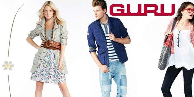 e244e007eec 399 Kč za oblečení a doplňky luxusní italské značky Guru!