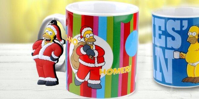 Užijte si Vánoce s Homerem Simpsonem