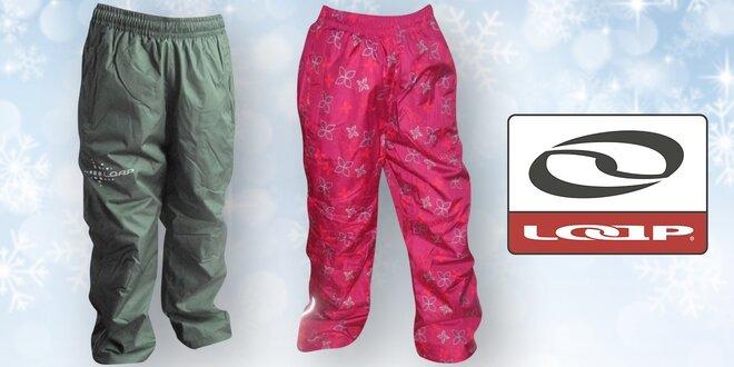 Dětské zimní zateplené kalhoty Loap  08d5fb993f