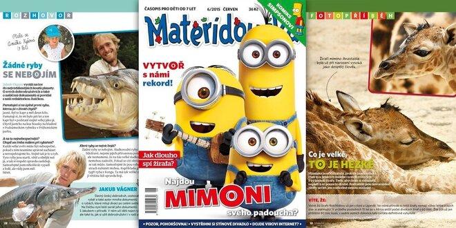 Předplatné dětského časopisu Mateřídouška