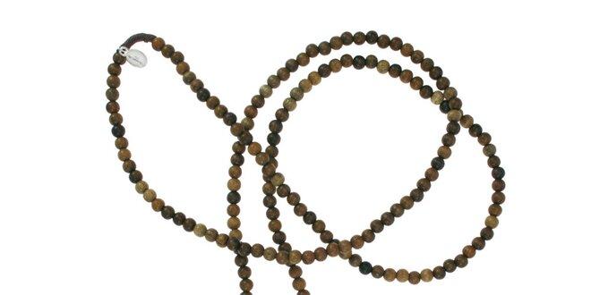 d9da9b449 Dámský dřevěný náhrdelník Escapulario se stříbrnými přívěsky ...