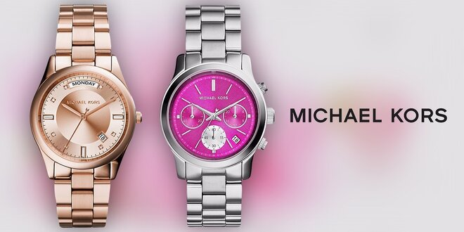 7463fad0cc3 Dámské luxusní hodinky Michael Kors