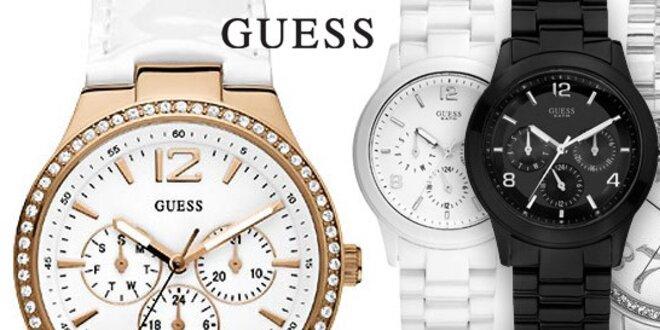 Dámské hodinky Guess - limitovaná akce  1f57ee08708