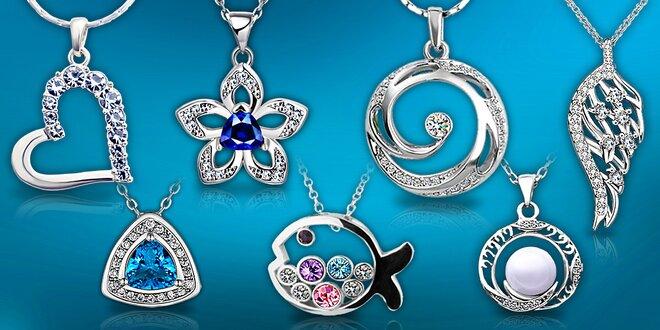 Šperky s krystaly Swarovski Elements a zirkony  b5095303265