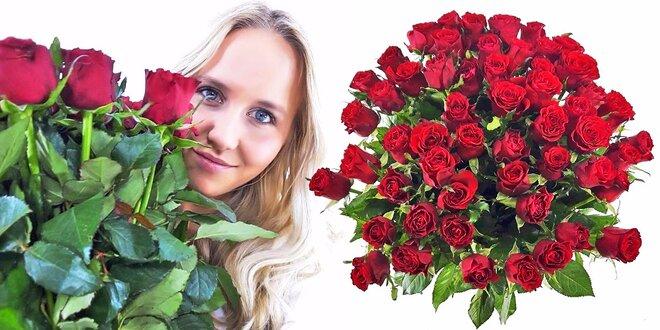 10 rudých růží - doručení po celé ČR