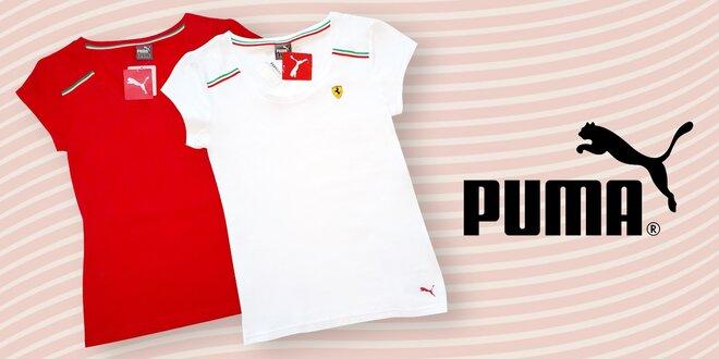 a50eed77bacd Dámská a pánká trička od značky Puma