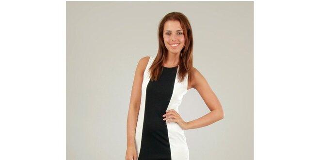 Dámské bílo-černé šaty Ginger Ale  4d4963a79e
