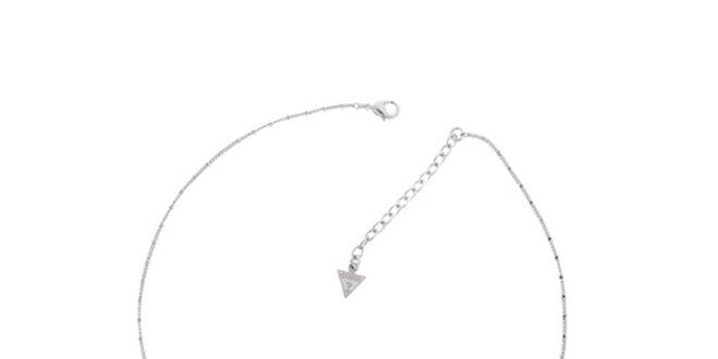 Dámský stříbrný náhrdelník Guess s vílou
