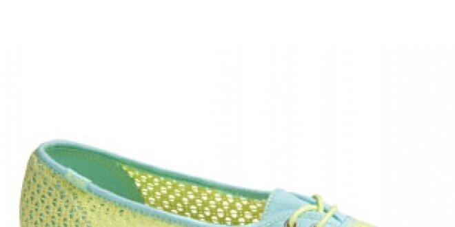Dámská limetková variace na tenisky Keds