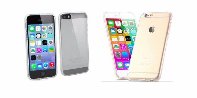 Tenký silikonový obal na iPhone