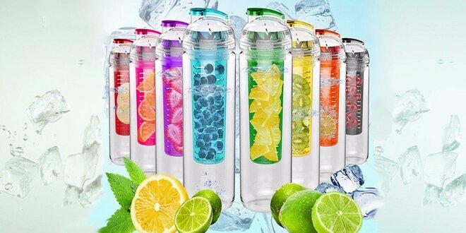 Osvěžení s fitness lahví s difuzérem