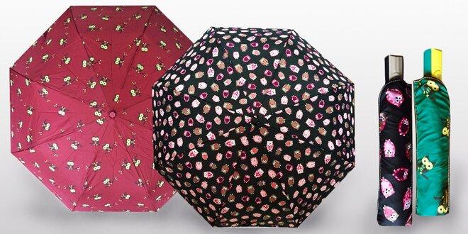 Originální deštníky s automatickým otevíráním