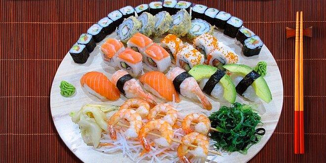 41 kousků fantastického sushi v Sushi Miomi