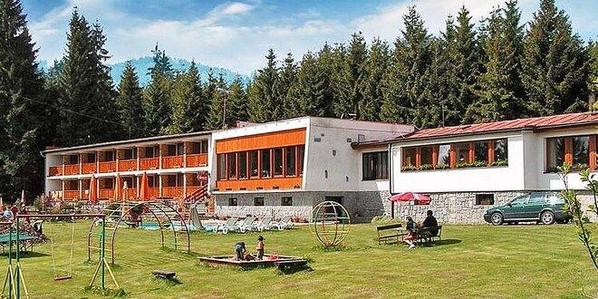 3-5denní podzimní pobyt na Lipně: Polopenze i whirlpool a sauna