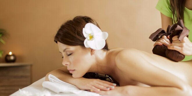 Báječná thajská masáž dle vlastního výběru