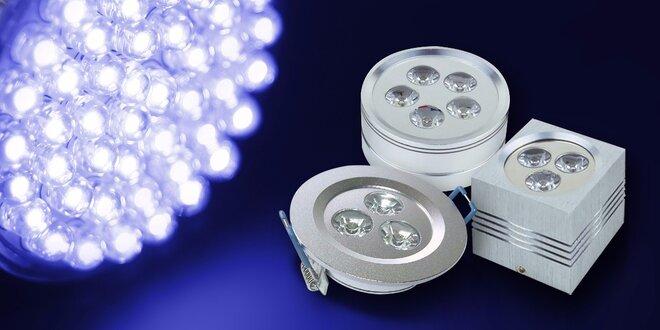 Stylová LED světla do zásuvky pro úsporu energie