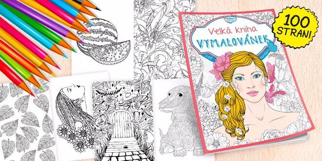 Relaxujte s pastelkami! Podzimní Velká kniha Vymalovánek