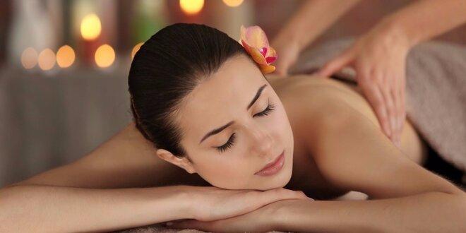 Relax při masáži dle výběru
