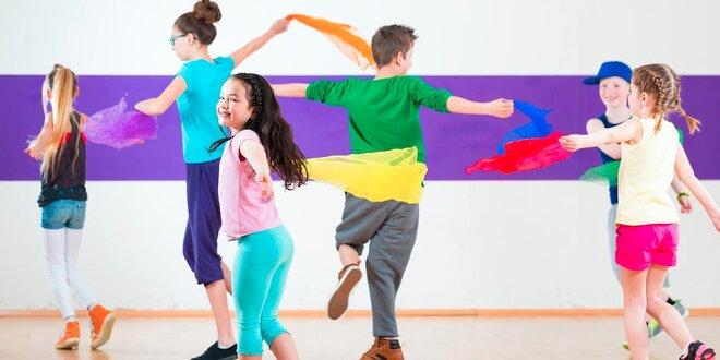 4 lekce v dětském tanečním studiu