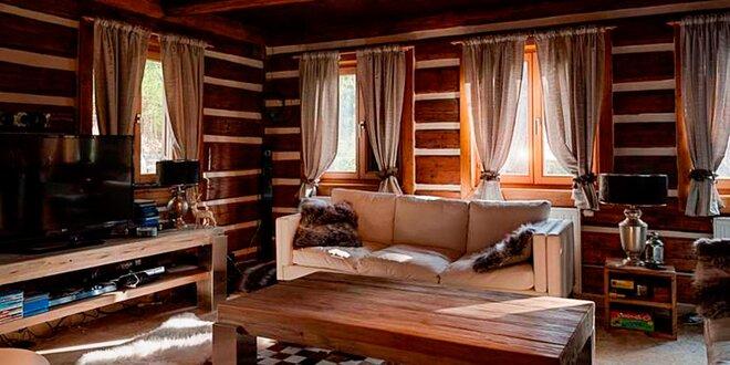 Luxusní chata v Jizerkách včetně wellness